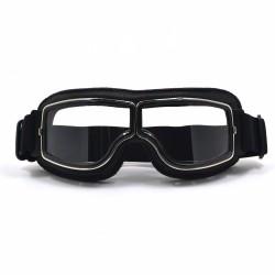Invictus Goggles Aviator Preto Lente Transparente
