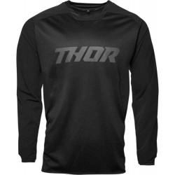 Thor Jersey S19 Terrain Preto
